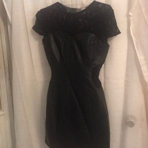 Guess Faux Leather Dress